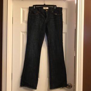Paper Denim Cloth dark wash jeans